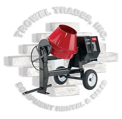 Toro Cm958h-s Concrete Mixer Stone 95cm 8hp Honda Heavy Duty Side Dump