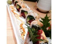 Supervisor needed for busy, vibrant and intimate sushi restaurant in West Hampstead