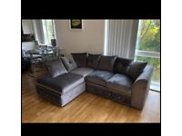 🐥Brand New Plush Velvet Sofa 🛋 DFS Style