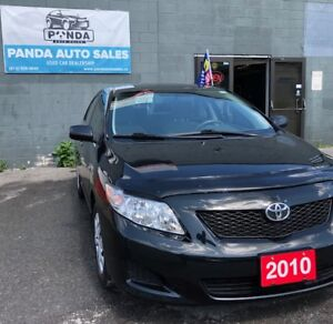 2010 TOYOTA COROLLA CE / Safety & Etest Certified / Financing