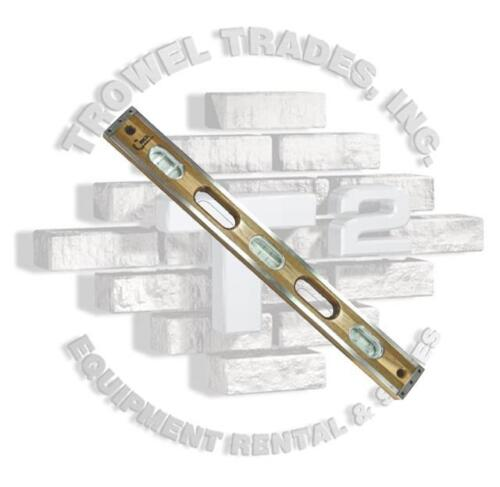 CRICK LEVEL 42 Inch 3Ply Masonry Level With Clear Vials