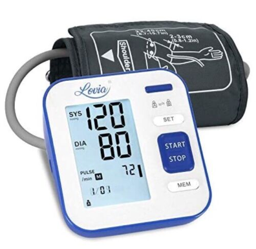Blood Pressure Monitor for Upper Arm, LOVIA Accurate Automat