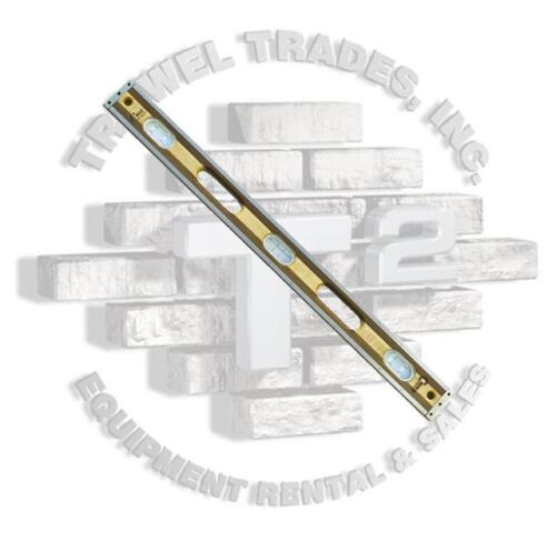 CRICK LEVEL 30 Inch 3Ply Masonry Level With Clear Vials