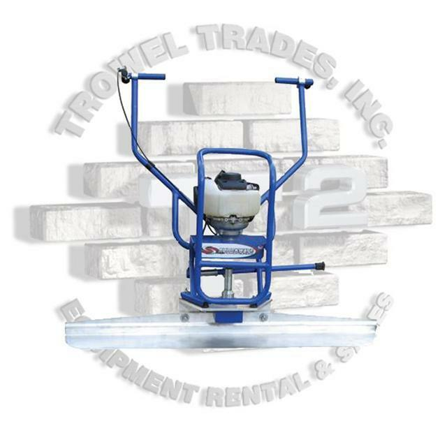 Marshalltown Shockwave Vibrating Concrete Screed SW100H Free Blade Power Screed