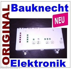 neu bauknecht elektronik sp lmaschine 461972037451. Black Bedroom Furniture Sets. Home Design Ideas
