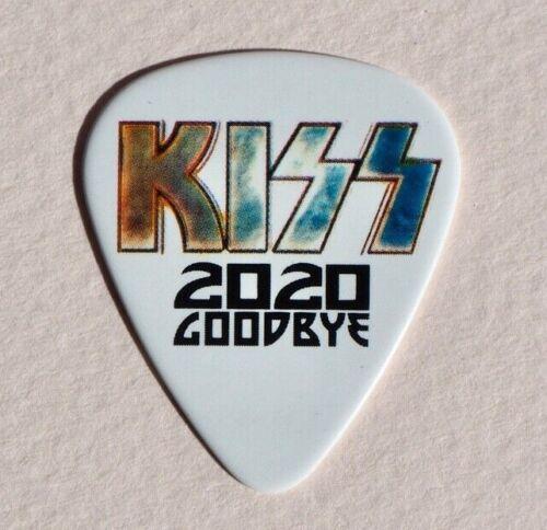 KISS GOODBYE 2020 Gene Simmons Signature Guitar Pick MEGA RARE