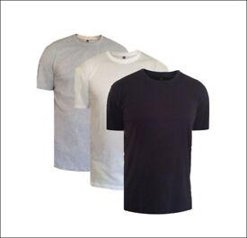 Plain Solid T-Shirt (Wholesale)