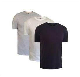 Plain crew neck T-shirt (Wholesale)