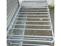 New metal Single Bed Trundle. Can deliver