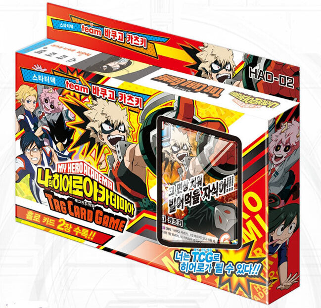 "My Hero Academia Expansion Starter Deck /""Team Katsuki Bakugou/"" Korean ver"