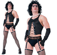 Adulto Frank N Furter Costume Rock Horror Show Vestito -  - ebay.it