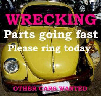 1974 Volkswagen Beetle Sedan Wrecking only. part Available