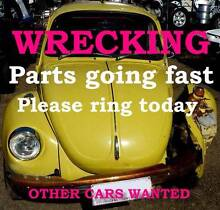 1974 Volkswagen Beetle Sedan Wrecking only. part Available Eumundi Noosa Area Preview