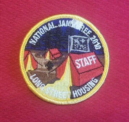 2010 Longstreet Housing Staff Patch National Jamboree NJ .