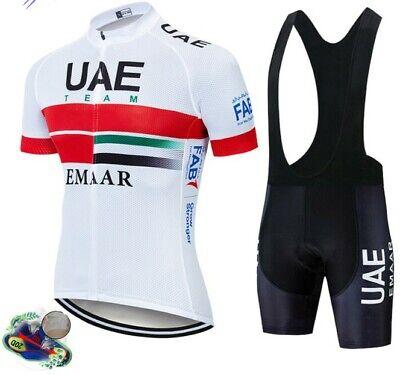2021 equipo UAE conjunto de Ropa de Ciclismo hombres bicicleta Maillot