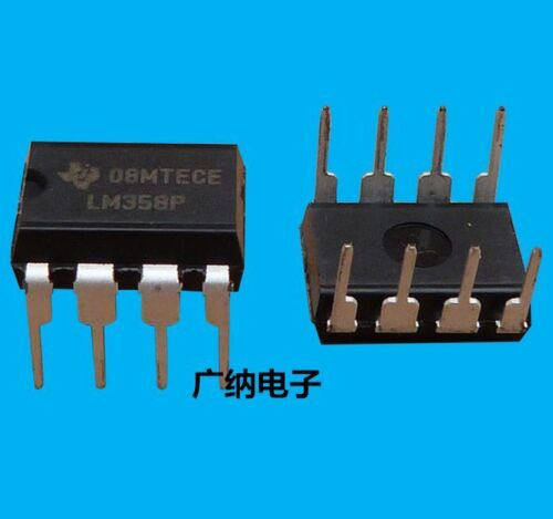 100pcs Lm358p Lm358 Dip-8 Operational Amplifiers Ic