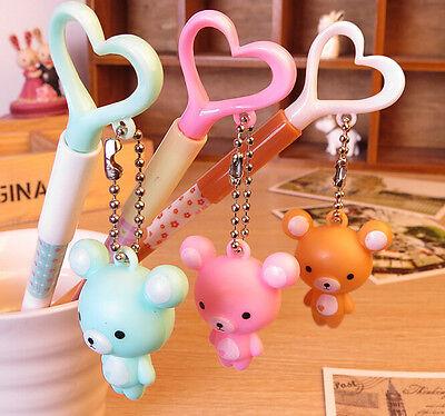 2 x Cute Bear fine point pen Party Bag Cute Kids novelty stationery Kawaii