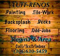 Painting/Reno's/odd jobs