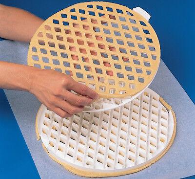 Lattice pie-top Dough Cutter - 2 Pc. Set - 11-1/2