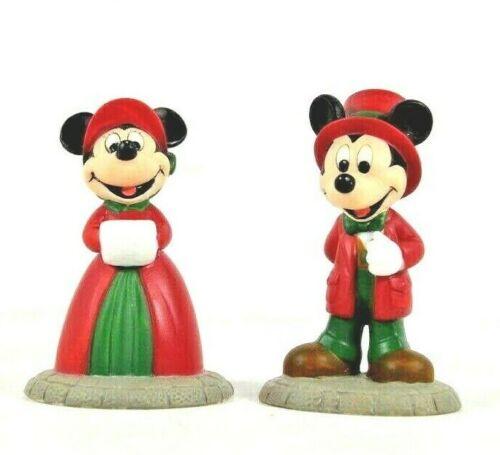 Department 56 - Mickey And Minnie - Disney Parks Village Series  #53538   EUC