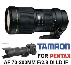 TAMRON AF 700-200MM F/2.8 DI LD IF MACRO CAMERA LENS FOR PENTAX