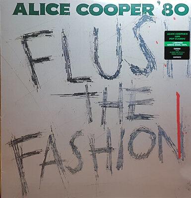 ALICE COOPER Flush The Fashion GREEN SWIRL COLOURED Vinyl LP 2018 NEW & SEALED