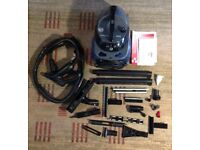 Steam cleaner SIMAC - II MANGIAVAPORE - VAS 80 With loads of attachments