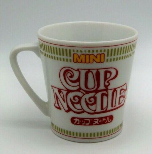 NISSHIN CUP NOODLE MINI Mug Cup Ceramic coffee tea Japan - Collector