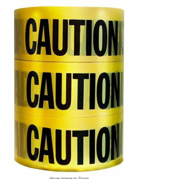 Empire 3 in. x 1000 ft. Caution Tape (3-Pack)