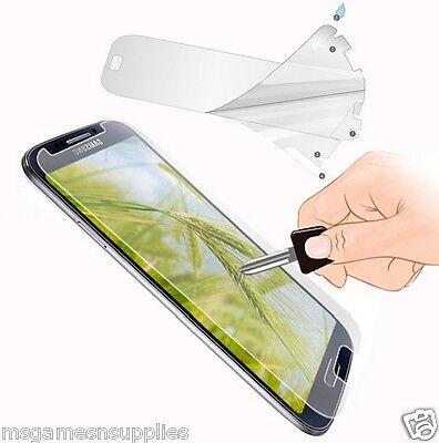 Samsung Galaxy S4 SiV S iV i9500 Screen Guard Protector with Micro-Fibre Cloth for sale  Hamilton