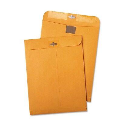 100 Clasp Envelopes 9x12 Shipping Mailing Box Gummed Business Manila Lot Storage