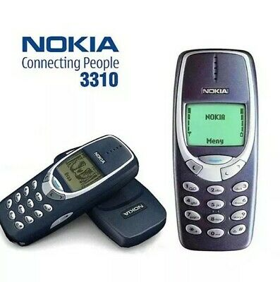 NOKIA 3310 MOBILE PHONE REFURBISHED  12 MONTH WARRANTY-UK SELLER.
