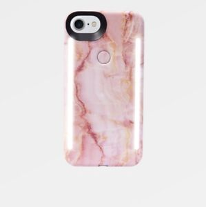 LUMEE DUO CASE FOR IPHONE 8/7/6S - PINK QUARTZ