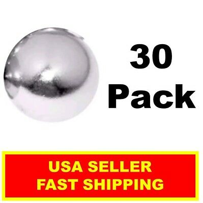 Neodymium Sphere Magnet 12 Inch N52super Strong Ball Rare Earth 30 Pack