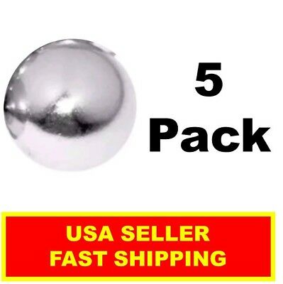Neodymium Sphere Magnet 12 Inch N52 Super Strong Ball Rare Earth 5 Pack