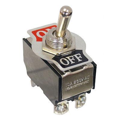 Kippschalter 250V / 10A 2-polig 4 Kontakte 2x Schließer Ein-Aus 5948