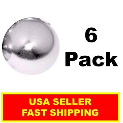Neodymium Sphere Magnet 12 Inch N52super Strong Ball Rare Earth 6 Pack