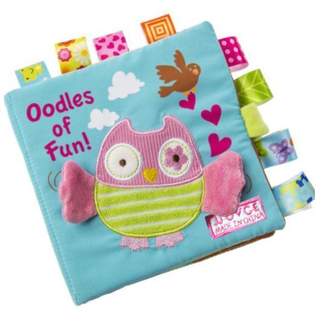 Animals Owl Soft Cloth Baby Intelligence Development Learn Picture Cognize Books - $8.49
