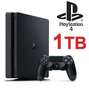 RFB PLAYSTATION 4 1TB GAME CONSOLE CUH-2115B 195316248 VIDEO GAMES SLIM CORE REFURBISHED