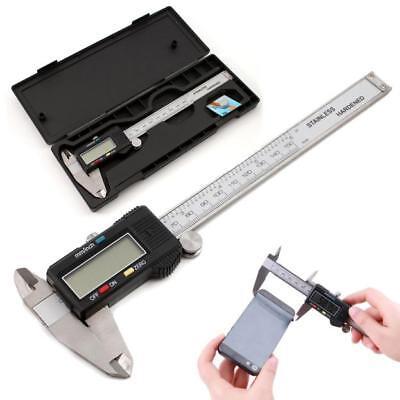 150mm6 Metal Casing Lcd Electronic Digital Vernier Caliper Gauge Micrometer