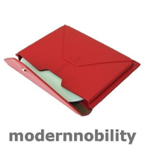 NEW-RED-LEATHER-eREADER-TABLET-CASE-FOR-PLAYBOOK-NOOK-KINDLE-FIRE-7-SCREENS