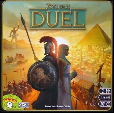 7 Wonders Duel Bundle Core, Pantheon, Metal Coins & War Pawn & Liberty Brand New