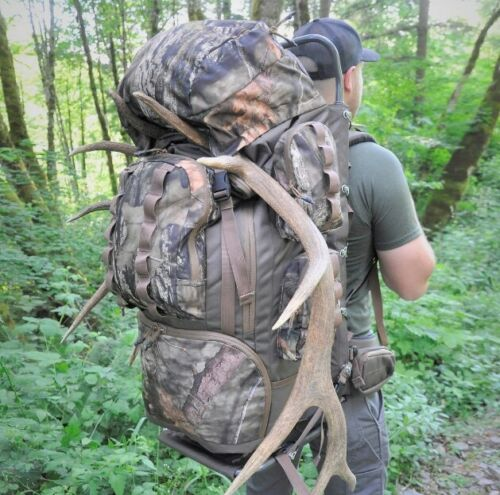 Back Pack Expedition Hiking Hunting Outdoor Travel Aluminum Frame Camouflage New