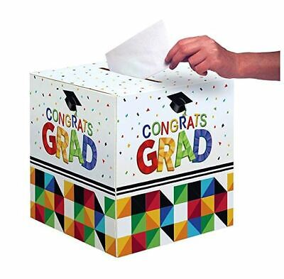 Graduation Card Holder Box (Creative Converting Graduation Party Card Holder Box, Fractal)