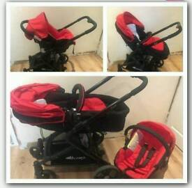 Hauck Colt Travel System (pram/ pushchair & carseat)