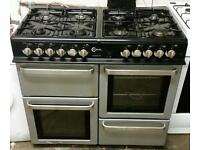 Range cooker gas and electric oven flavel 100cm