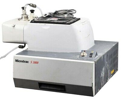 Microtrac M3001-bw-a00000-dfp S3000 Laser Diffraction Particle Size Analyzer