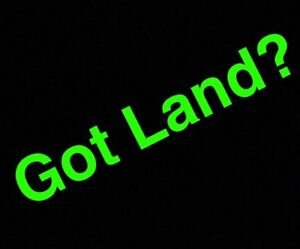 Looking for: Land for Development