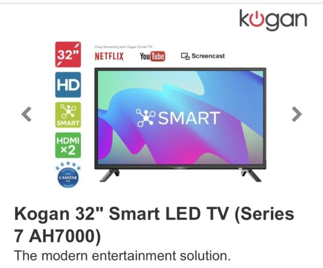 8c5d1dc7617 Kogan 32inch Smart LED TV