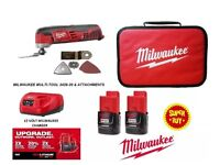 Milwaukee C12 compact multi tool 12v